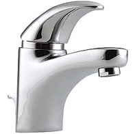 Pegler Monobloc Chrome Basin Mixer with Pop Up Waste